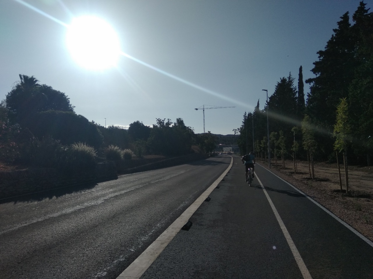 Bike tour Ebro