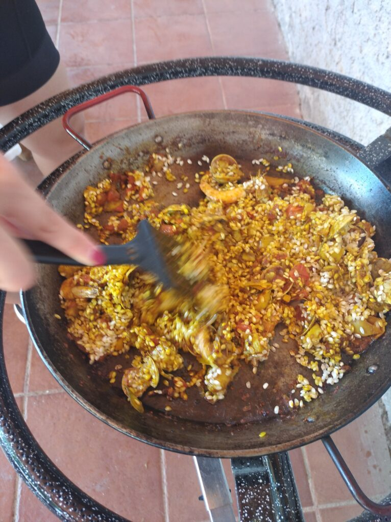 Paella in Sitges